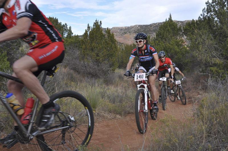 Palo Duro Canyon mountain bike marathon