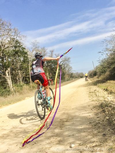 Kite and bike